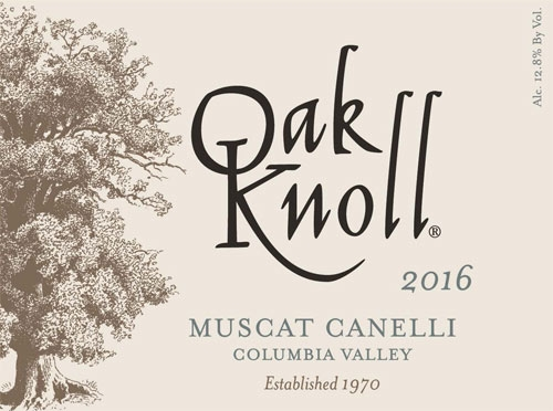 2016 Muscat Canelli Oak Knoll Winery